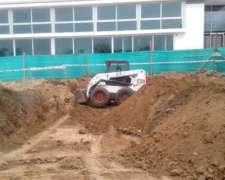 Alquiler de Bobcat y Camión Volcador
