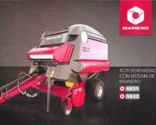 Enrrolladora Mainero 5831-5832 con Cutter