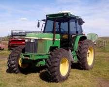 Tractor John Deere 6600 DT