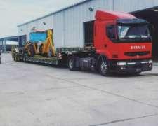 Carretones Transportamos Maquinarias John Deere/case/massey