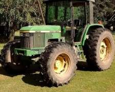 Tractor John Deere 6300 Con Motor Reparado A Nuevo (900hs)
