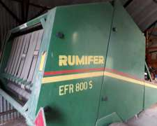 Enrolladora Rumifer EFR 800s. Escucho Oferta