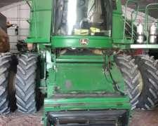 John Deere 9860 2007 Doble Tracción y Duales 35 Pies