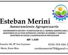 Ofrezco Asesoramiento Técnico Agropecuario