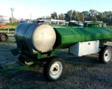 Acoplado Tanque Combinado 2000+750 con Bomba
