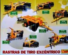 Rastras Tiro Excéntrico Campra - Consulte Modelos