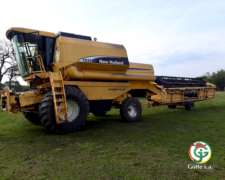 Cosechadora New Holland Tc59 Año 2002