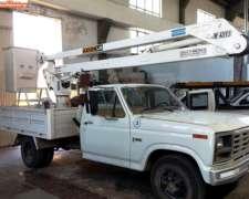 Camion Con Hidroelevador Ford 350 Id 453