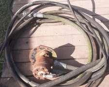 Motor Hidraulico con Caja de Cuchilla