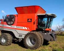 Massey Ferguson 9895 - Año 2008 - Draper 40 Piersanti - 4x4