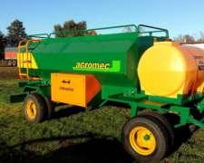 Acoplado Tanque Combinado Agromec 3000+750+baulera