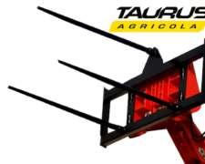 Pinche para Rollos Portarrollo Implemento Manipulador Taurus