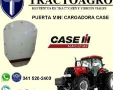 Puerta Mini Cargadora Case