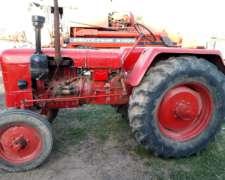 Tractor Fahr D40 con TDF