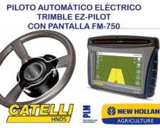 Piloto Automático Eléctrico Ez-pilot con Pantalla FM-750