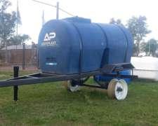 Acoplado Tanque 2.000 Litros Argenplast