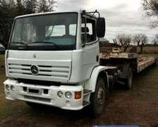 Equipo Enganchado, Mercedes Benz 1418