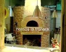 0horno De Ladrillos O Barro--hornos La Tronera