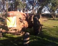 Tractor Farmall Agrícolero Funcionando