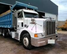 Camion Volcador Peterbilt Tatu 8x4