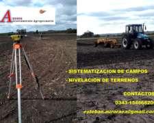 Sistematizacion de Campos Agricolas Ganaderos