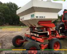 Fertilizadora Yomel Mod RD 3028 Z