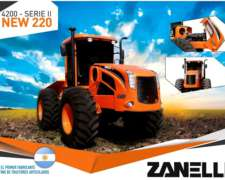 Tractores Zanello Nuevos. Toda la Línea.