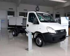 Camión Iveco Daily Chasis Cabina SIM o Doble CAB Ecoline 0km
