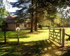 Venta de Campo en Lobos, Establecimiento Avicola con Casa