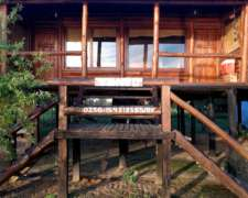 Cabañas De Troncos, Isla Las Hermanas (ramallo)
