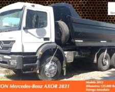 Mercedes Benz Axor 2831 6X4