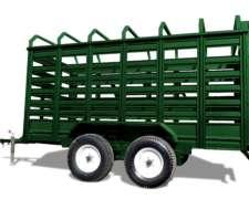 Acoplado Para Transporte De Hacienda 4x2x1,80 Mts