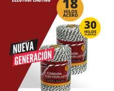Cordón Electroplastico Alta Resistencia y Conductividad