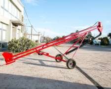 Norias Hidraulicas Transportables a Cangilones Pierini.