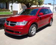 Exc. Precio y Estado Dodge Journey SXT AT 3 Filas Dvd+techo.