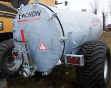 Estercolera Pichon TCI 5.150 Litros, Galvanizada