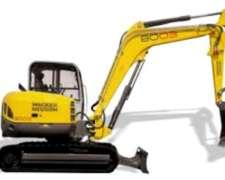 Excavadora Wackerneuson 8003 - 8 Tons 4.65 Mt De Profundidad