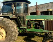 Tractor John Deere 3140 Tracción Simple