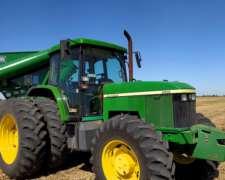 Tractor John Deere 7505 año 2005