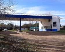 Ex Estación De Servicio. T Lauquen. Lote Esquina 1.237 M2