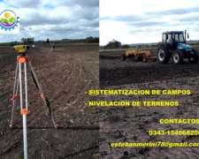 Sistematización de Campos Agrícolas Ganaderos