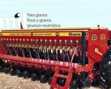 Sembradora Bertini 16000 Grano Grueso, Grano Fino, Alfalfero