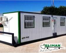 Casilla Trailer Oficina y Sala Operadores - el Iman