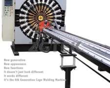 Máquina de Soldar Canastos para Filtros de Mangas