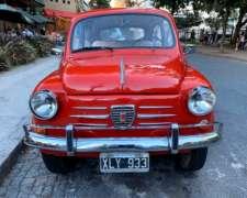 Fiat 600 de Coleccion 1967 - Restaurado Oportunidad