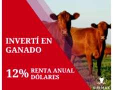 Invertí en Ganado - Fideicomiso - Agropecuaria Surmax S.A.