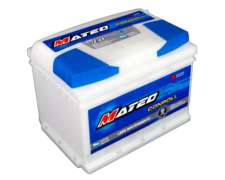Bateria 12x65 Derecha Mateo Nafta Diesel Gnc