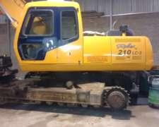 Vendo Excavadora Hyundai 210 en Excelente Estado