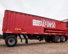 Acoplado Tolva para Camión con Tubo de Descarga de 34 M3
