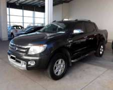 Ranger Limited DC 4X4 3.2l año 2013